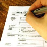 IRS tax form 1040a