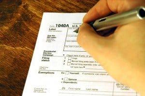 tax form 1040a