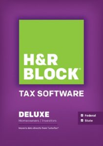H&R Block Tax Software Available