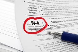 w4 withholdings form
